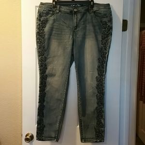 Inc denim jeans skinny leg size 20 Women's